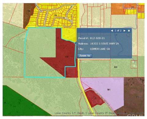 10355 S State Hwy 29, Lower Lake, CA 95457