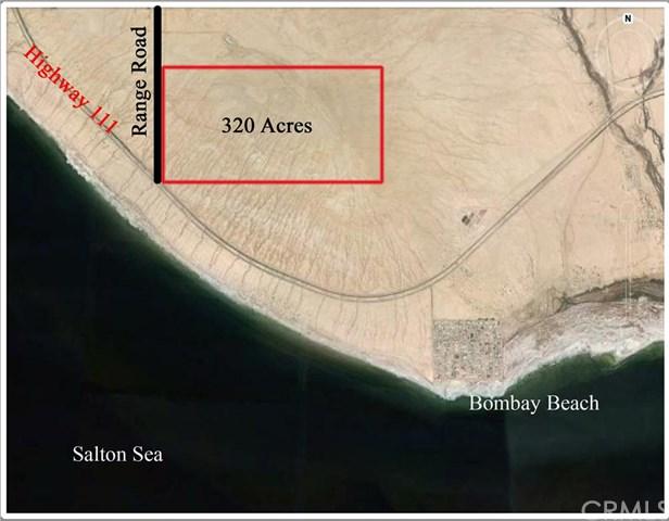 320 Acres Of Land Off Range Road, Salton Sea, CA