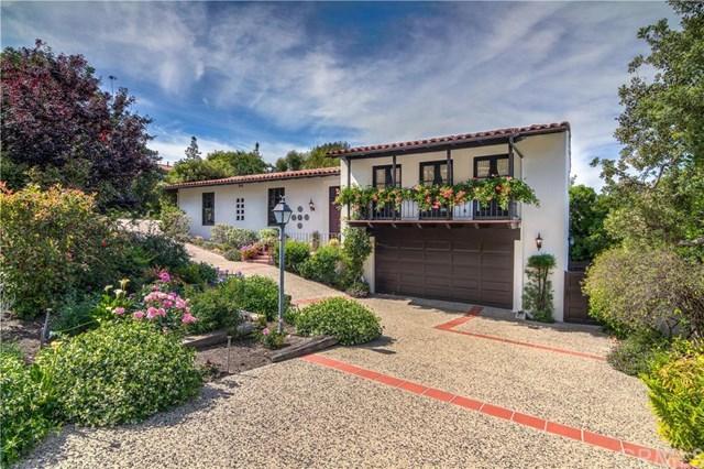 709 Via Del Monte, Palos Verdes Peninsula, CA