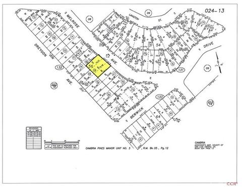 1717 Melrose Ave, Cambria, CA 93428