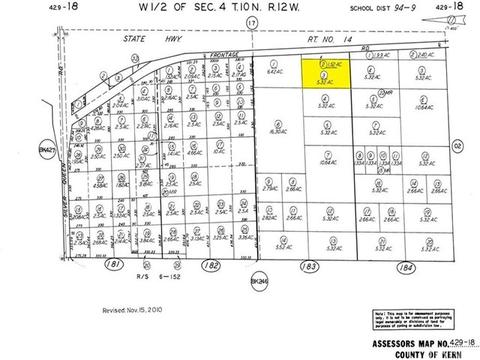 14 Fwy North Of Reed Ave, Rosamond, CA 93560