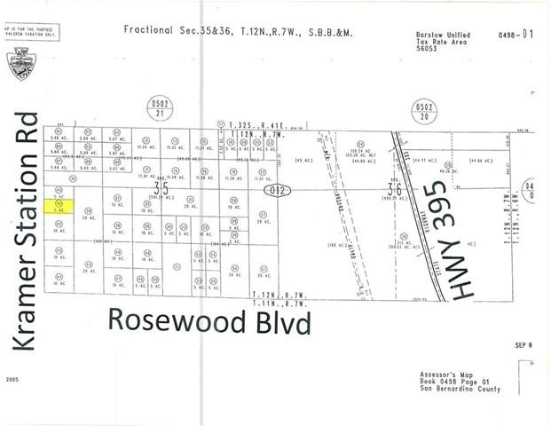 0 Vacant Land, Kramer Junction, CA