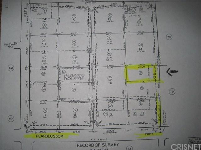 42 Vac42nd Stevic Pearblossom, Palmdale, CA 93550