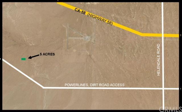 0 Near Powerline Rd Off Helendale Rd, Barstow, CA