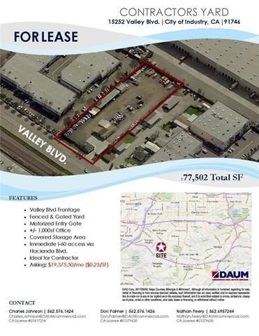 15252 Valley Blvd, City Of Industry, CA 91746