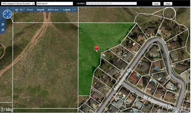 0 Near Miramonte Dr, San Bernardino, CA 92405