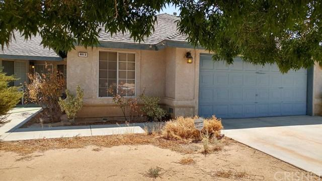 8612 Satinwood Ave, California City, CA 93505