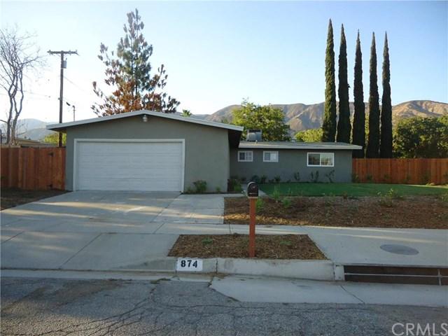 874 W Hill Drive, San Bernardino, CA 92407