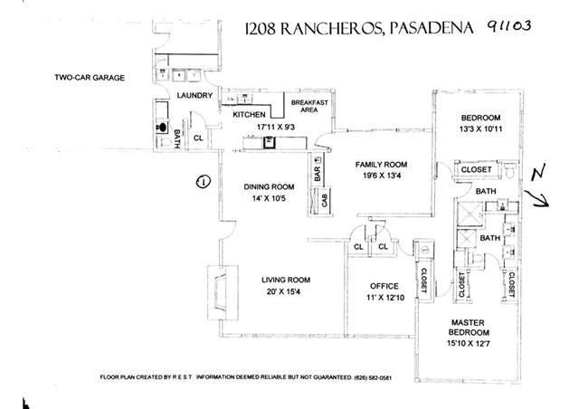 1208 Rancheros Place, Pasadena, CA 91103