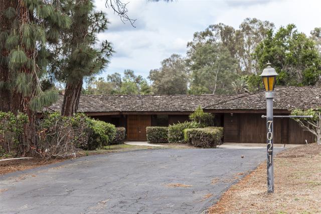 7021 Caminito De Conejos, Rancho Santa Fe, CA 92067