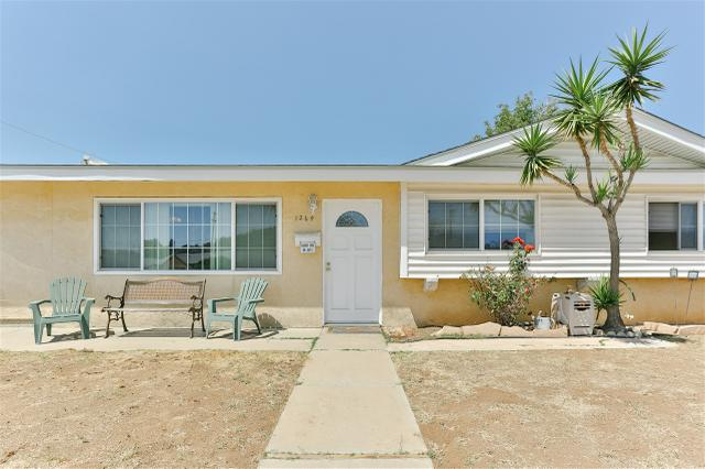 1264 Bosworth, El Cajon, CA 92019