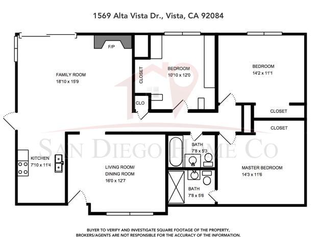 1569 Alta Vista Dr, Vista, CA 92084