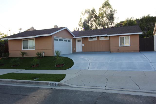 6216 S Lk, San Diego, CA 92119