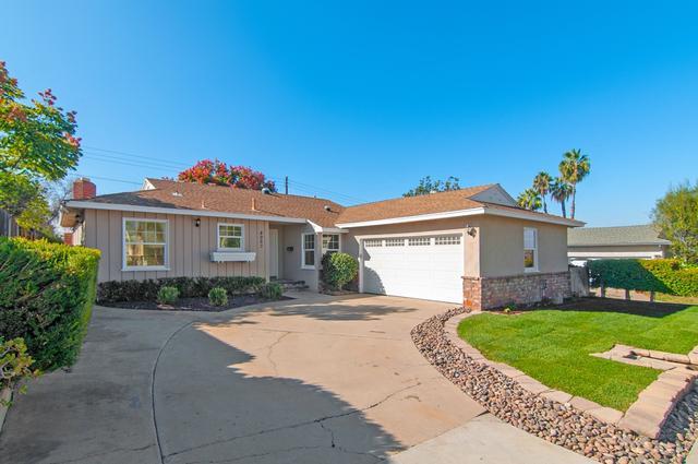 4967 Walter, San Diego, CA 92120