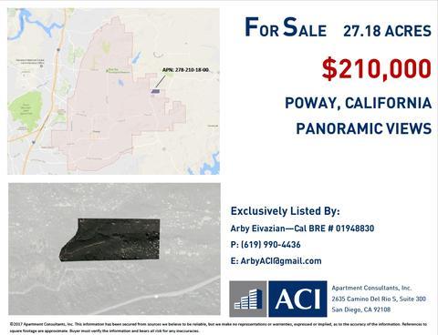 0 Coyote Creek Trl #278-210-18-00, Poway, CA 92064