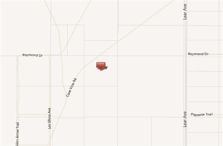 0 Cove View Road, Out Of Area, CA 92277
