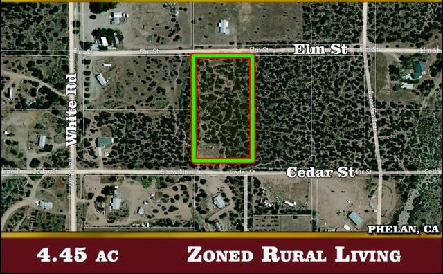 0 Elm St Cedar St, Phelan, CA 92371