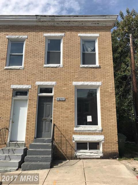 1630 Mckean Ave, Baltimore, MD 21217