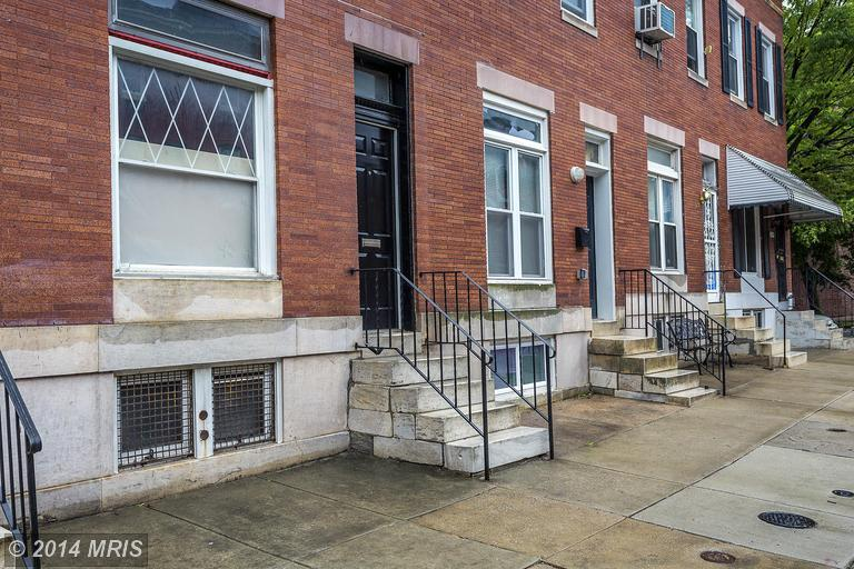 1932 Mcculloh St, Baltimore MD 21217