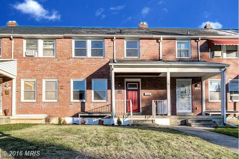1344 Pentwood Rd, Baltimore, MD