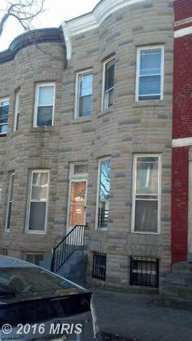 2840 Woodbrook Ave, Baltimore MD 21217