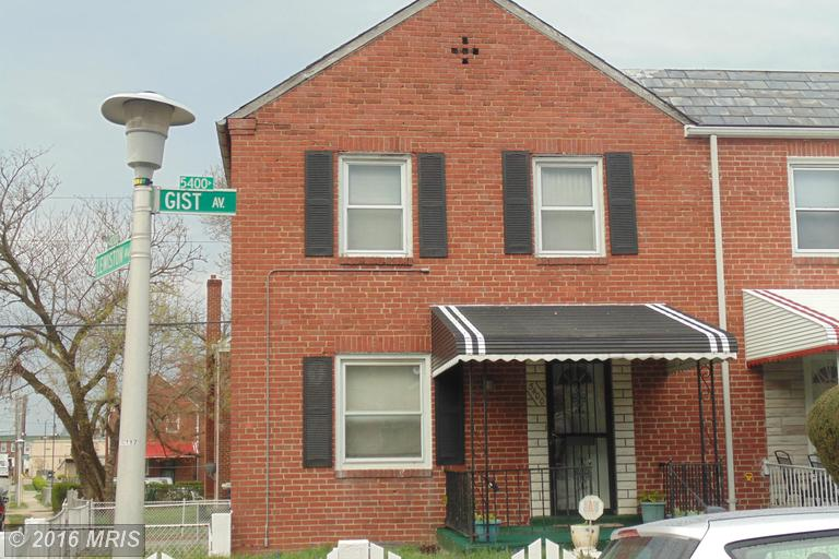5400 Gist Ave, Baltimore, MD