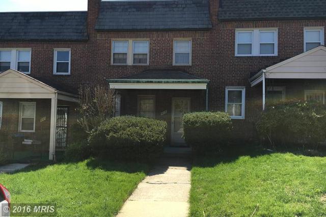 519 Radnor Ave, Baltimore, MD