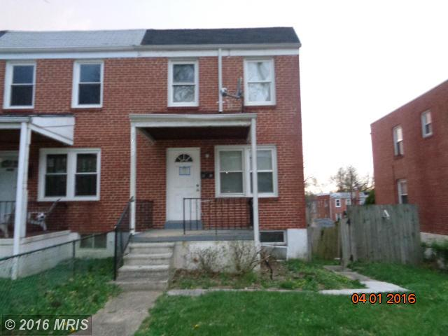 3720 Clarenell Rd, Baltimore, MD