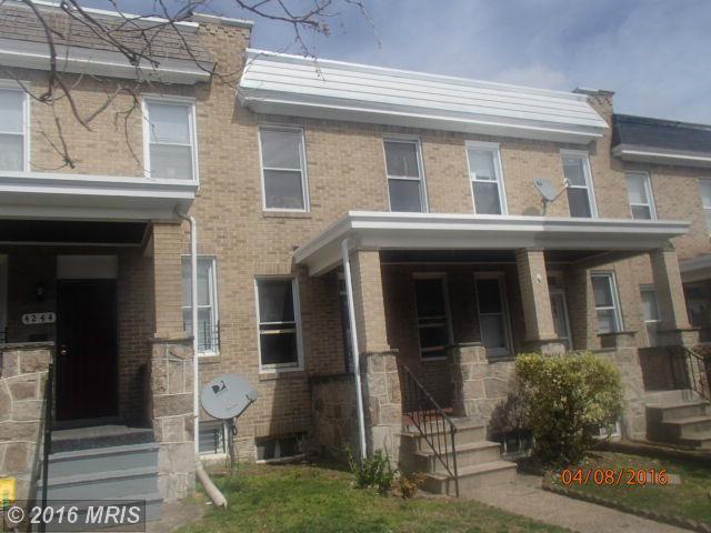 4246 Nicholas Ave, Baltimore, MD