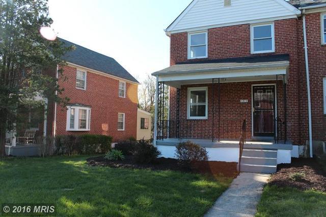 1317 Silverthorne Rd, Baltimore, MD