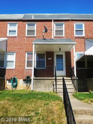 4143 Buena Vista Ave, Baltimore, MD