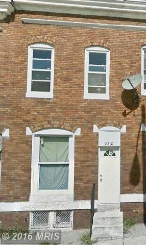 2310 Fayette St, Baltimore MD 21223