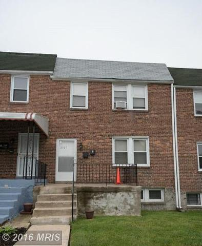 2527 Mosher St, Baltimore MD 21216