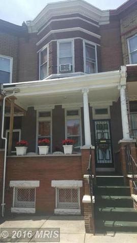 1612 Appleton St Baltimore, MD 21217