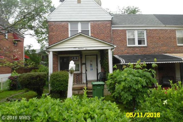 110 Upmanor Rd, Baltimore MD 21229