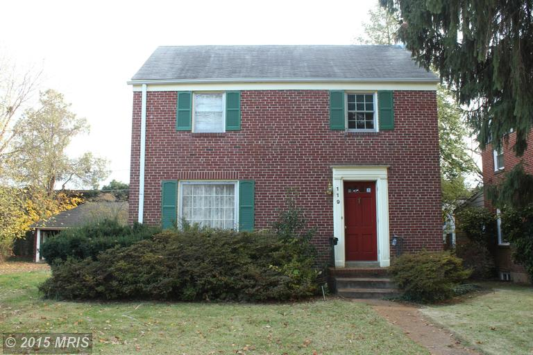 119 Brightside Ave, Pikesville, MD