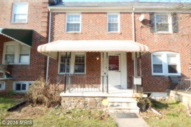5216 Cromarty Rd, Baltimore MD 21229