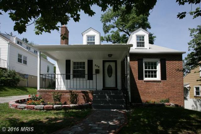 Loans near  Walker Ave, Baltimore MD