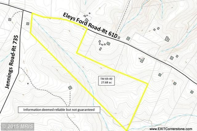 Eleys Ford Rd, Richardsville, VA 22736