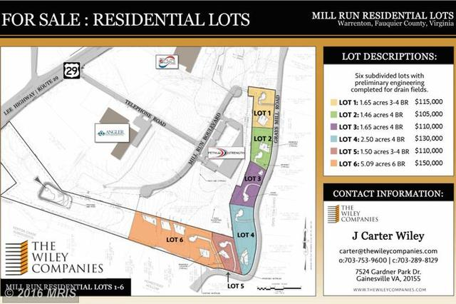 Grays Mill Road Lot 5, Warrenton, VA 20187