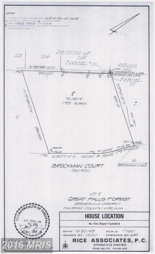 602 Brockman Court, Great Falls, VA 22066