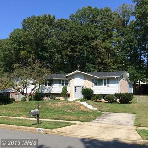 5303 Gainsborough Dr, Fairfax, VA 22032