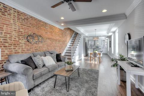 Pleasant Canton Baltimore Md 4 Bedroom Houses For Sale Movoto Home Interior And Landscaping Ferensignezvosmurscom