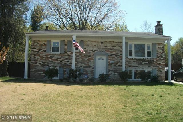 4113 Kilbourne Dr, Fort Washington, MD