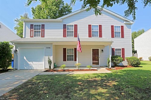 326 Peach Tree Cres, Newport News, VA 23602