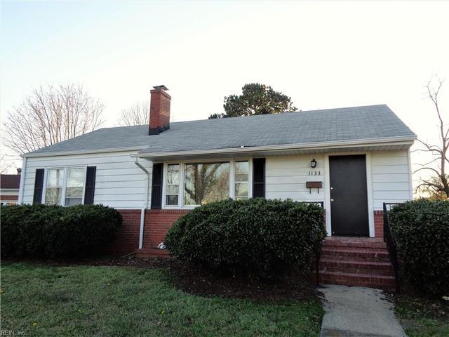 1133 Marshall Pl, Newport News, VA 23607