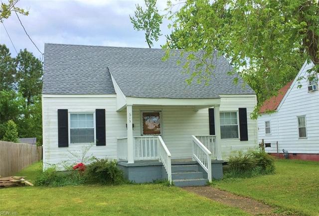 613 Chapel St, Hampton, VA 23669