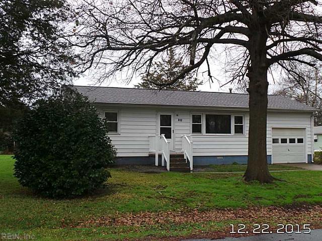 812 Custis Ave, Chesapeake VA 23323