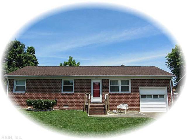 904 Thornhill Dr, Hampton VA 23661