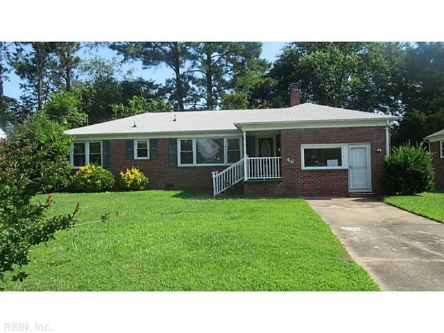 46 Wheatland Dr, Hampton, VA 23666